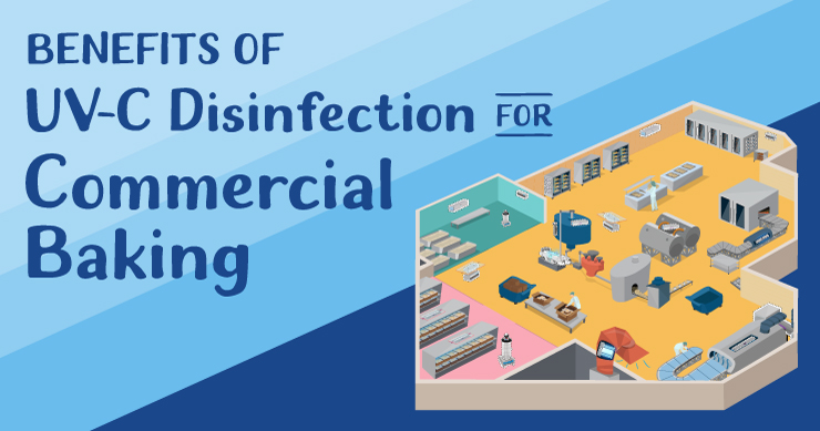 Benefits of UV-C Disinfection for Commercial Baking