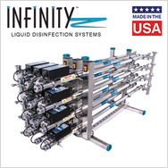 Infinity ultraviolet liquid disinfection