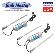 Tank Master ultraviolet liquid storage sanitizer