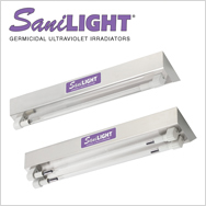 SaniLIGHT Germicidal Ultraviolet Irradiation for Disinfecting Air & Surfaces