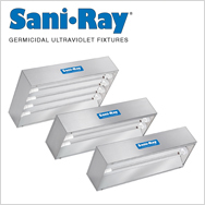 SaniRay Germicidal Ultraviolet Fixtures for Disinfecting Air & Surfaces