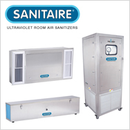 SANITAIRE Ultraviolet Room Air Sanitizer for Disinfecting Air & Surfaces