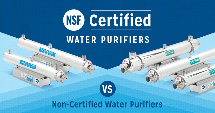 NSF Certified Water Purifiers vs Non-Certified Water Purifiers