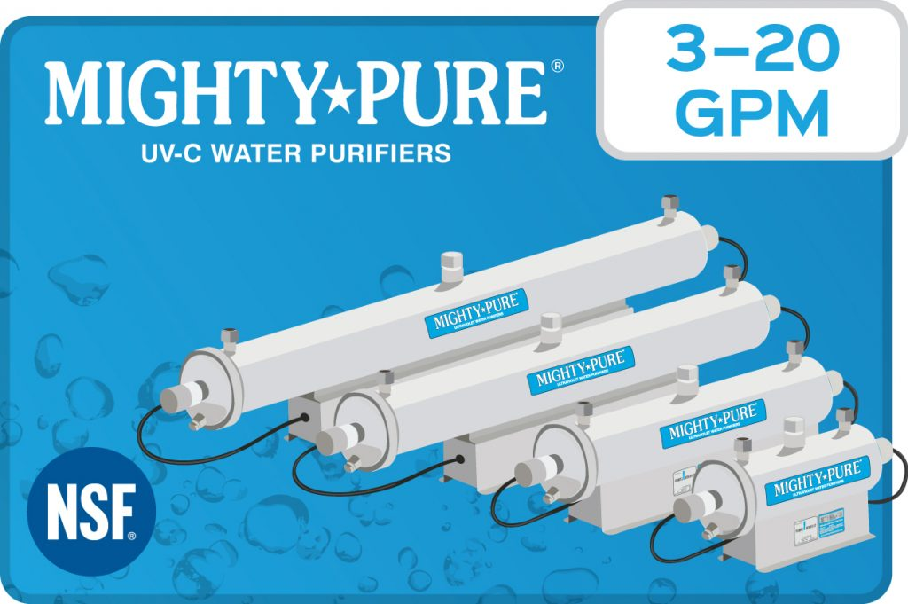 Mighty Pure UV-C Water Purifiers