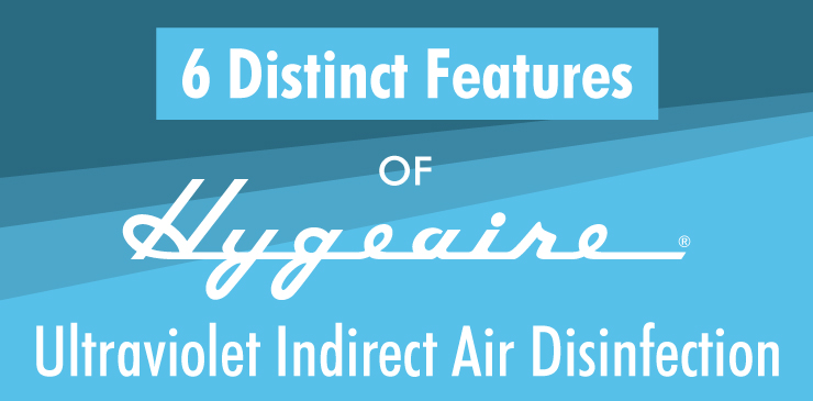 6 Distinct Features of Hygeaire Ultraviolet Indirect Air Disinfection