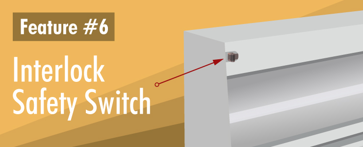 Interlock Safety Switch Protects Personnel from Ultraviolet Exposure