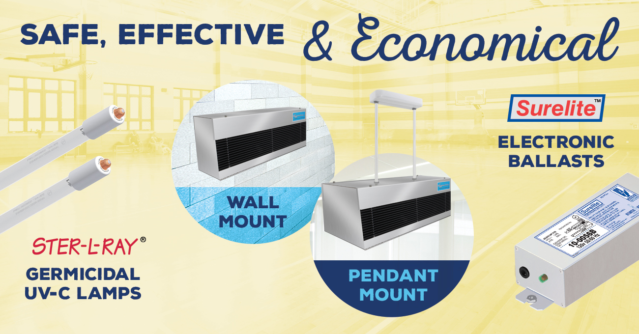 Hygeaire Indirect UV Air Purification is Safe, Effective, and Economical