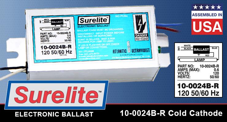 10-0024B-R Cold Cathode Ballast