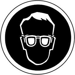 Safety Glasses Symbol