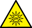 UV Warning Symbol