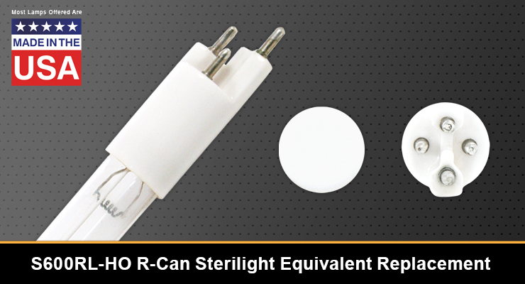 R-Can Sterilight S600RL-HO Equivalent Replacement UV-C Lamp