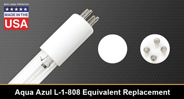 Aqua Azul L-1-808 Equivalent Replacement UV-C Lamp