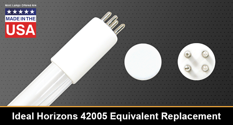 Ideal Horizons 42005 Equivalent Replacement UV-C Lamp