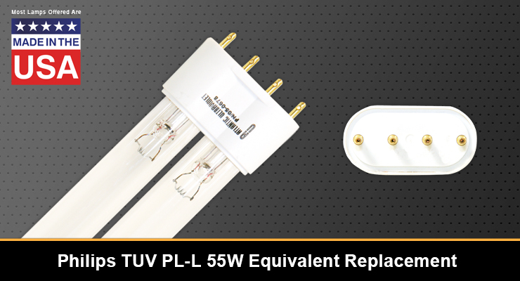 Equivalent Replacement for the Philips TUV PL-L 55W UV-C Lamp