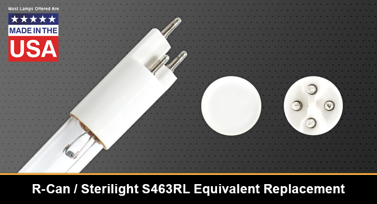R-Can / Sterilight S463RL Equivalent Replacement UV-C Lamp