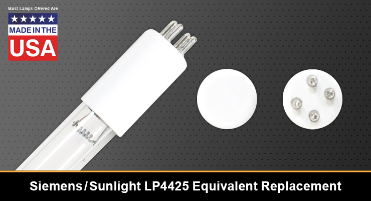 Siemens / Sunlight LP4425 Equivalent Replacement UV-C Lamp