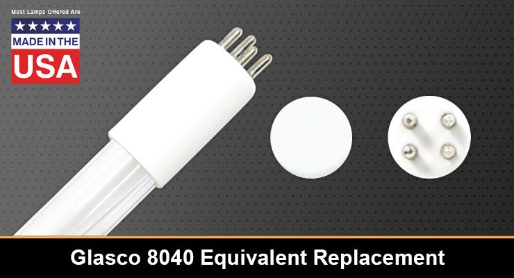 Glasco 8040 Equivalent Replacement UV-C Lamp
