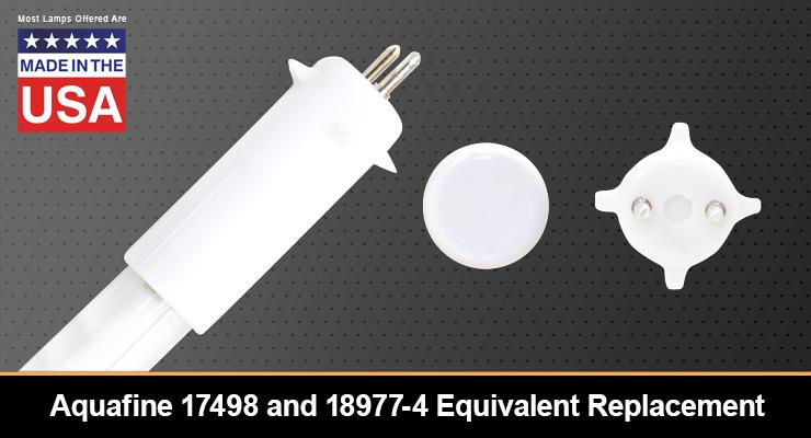 Aquafine 17498 and 18977-4 Equivalent Replacement UV-C Lamp