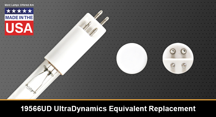 19566UD UltraDynamics Equivalent Replacement UV-C Lamp