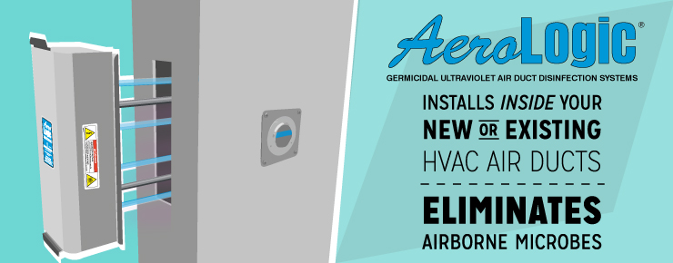 AeroLogic Installs Inside New or Exisiting HVAC Air Ducts