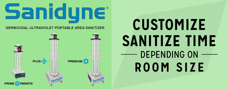 Customize Sanitize Time Depending on Room Size