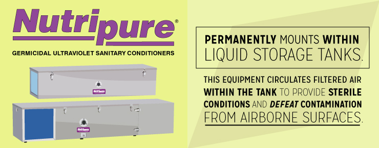 Nurtipure is the Solution for Liquid Storage Tanks