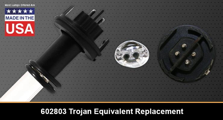 Trojan 602803 Equivalent Replacement UV-C Lamp