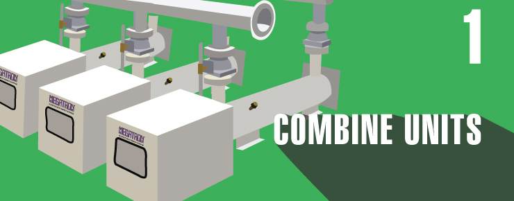 combine units
