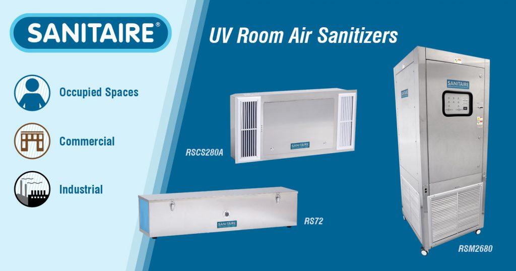 Sanitaire Ultraviolet Room Air Sanitizers